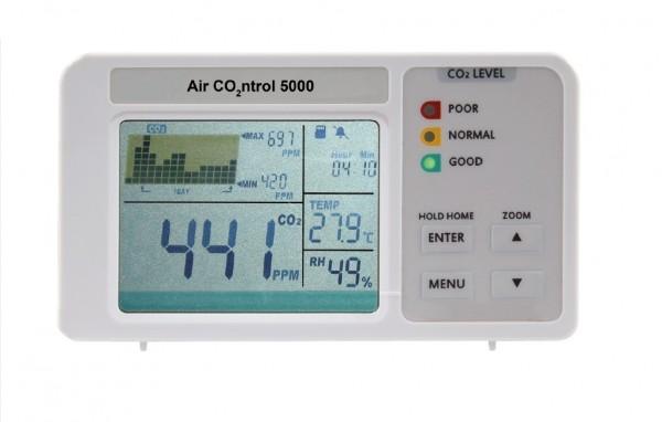 AirControl 5000 - CO2-Monitor mit Datenloggerfunktion