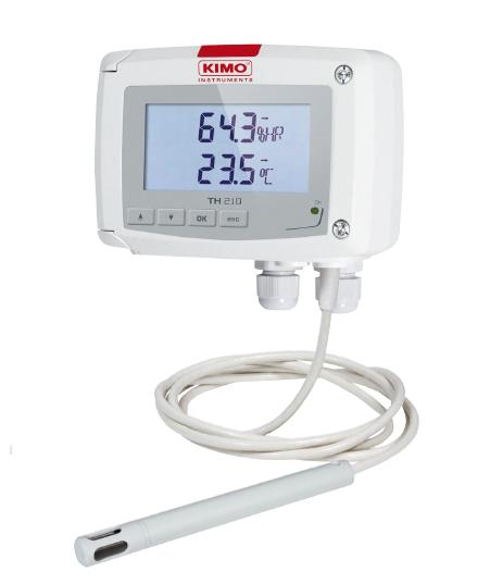 Temperatur-/Feuchtetransmitter - Serie TH 210 - TH210-HODP/300