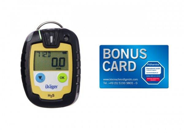Dräger Gaswarngerät Pac® 6000 H2S LC + BONUS CARD