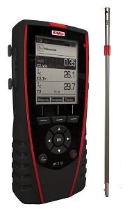 KIMO Anemometer-Hygrometer-Thermometer - VT 210 F