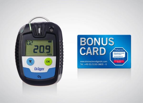 Dräger Gaswarngerät Pac® 6500 O2 + BONUS CARD