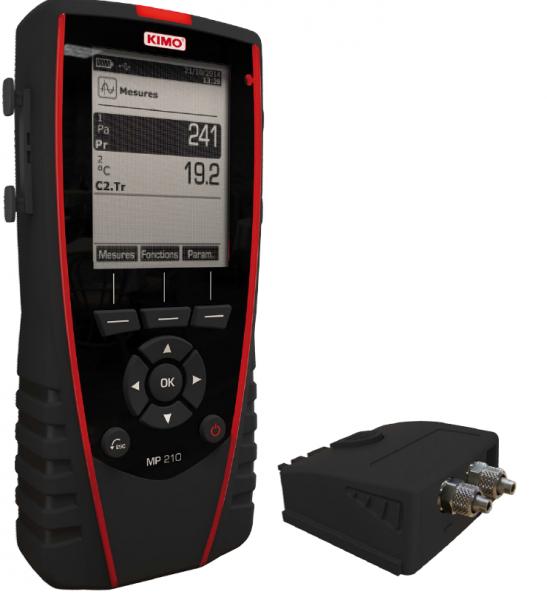 KIMO Thermo-Anemo-Manometer Set- MP 210-H