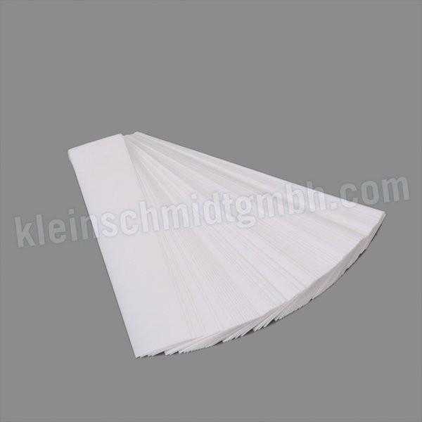 Filterpapier für Rußpumpen (Rußblättchen), TüV-geprüft, 80 Streifen