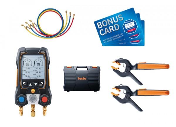 testo 550s Smart Set mit Füllschläuchen + BONUS CARDs