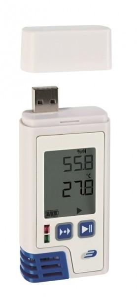 Dostmann LOG210 PDF-Datenlogger mit Display für Temperatur und Feuchte