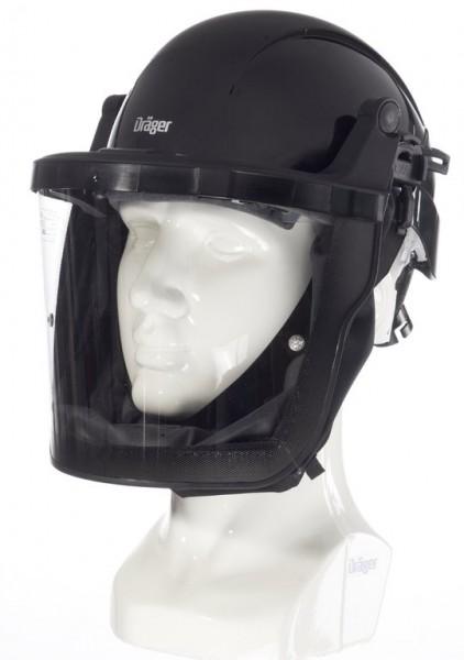 Dräger X-plore 8000 Helm mit Visier, schwarz