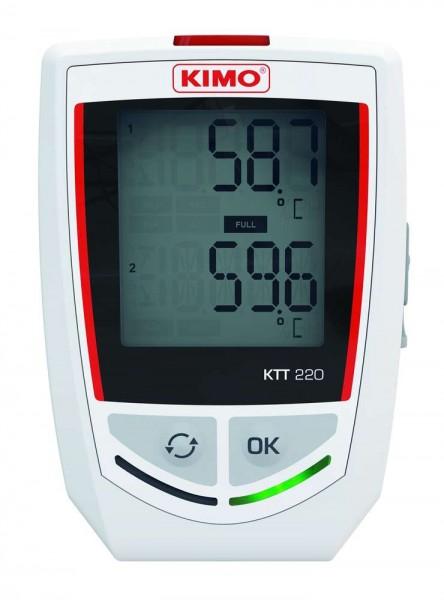 KIMO KTT 220 - O Temperaturdatenlogger