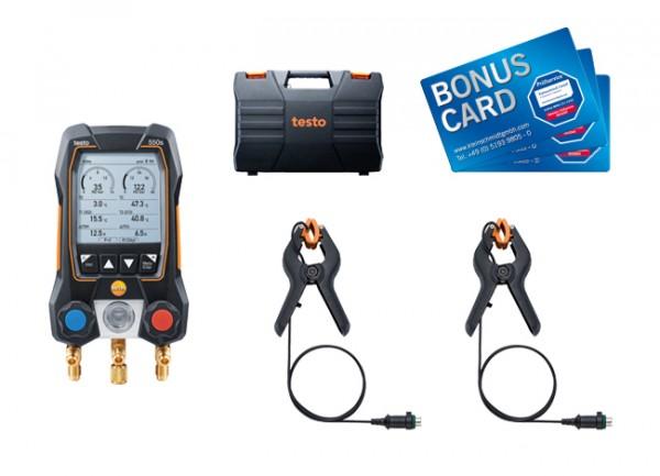 testo 550s Basis Set BONUS CARDs