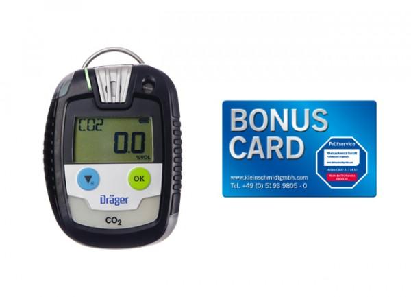 Dräger Gaswarngerät Pac® 8000 CO2 + BONUS CARD