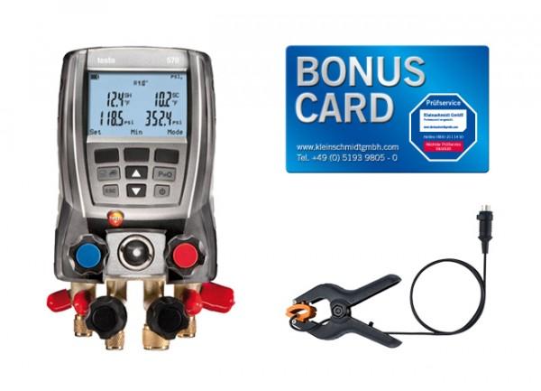 testo 570-1 Set Digitale Monteurhilfe BONUS CARD