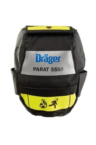 Dräger Brandfluchthaube PARAT 5550 mit Holster