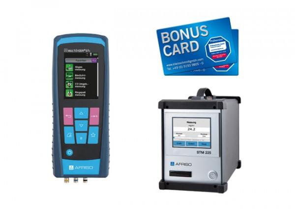 Afriso Staubmessgerät Paket STM 225 + Multilyzer STx + Zubehör + BONUS CARD