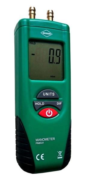 BRIGON-Differenzdruckmessgerät 0-20
