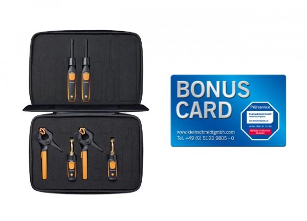 testo Smart Probes Kälte-Set-Plus BONUS CARD