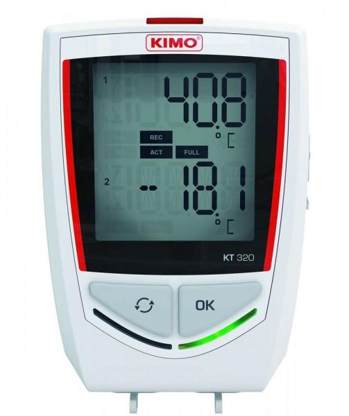 KIMO KT 320 Temperaturdatenlogger mit Bluetooth