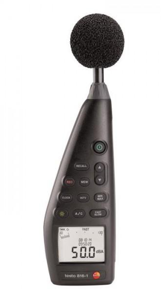 testo 816-1 - Schallpegel-Messgerät