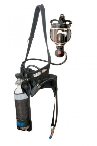 Dräger PAS Colt EN402 mit LA-A, für 2L/300 bar CFK-Flasche