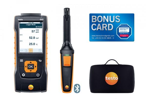 testo 440 CO2 Set mit Bluetooth® + BONUS CARD
