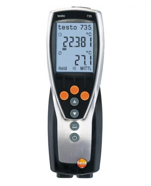 testo 735-1 - Temperaturmessgerät (3-Kanal)