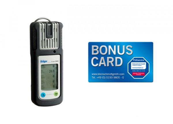Dräger X-am 5000 Basisgerät + BONUS CARD