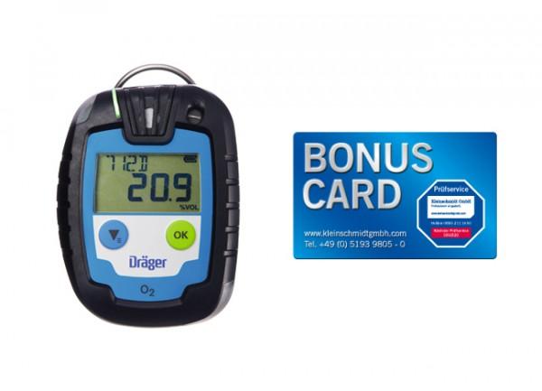 Dräger Gaswarngerät Pac® 6000 O2 + BONUS CARD