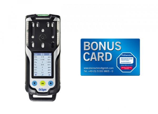 Dräger X-am 8000 Basic + Pumpe + BONUS CARD
