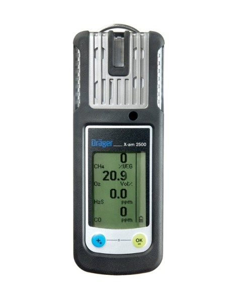Dräger Gaswarngerät X-am 2500, 3 Gas - EX, O2, CO + BONUS CARD