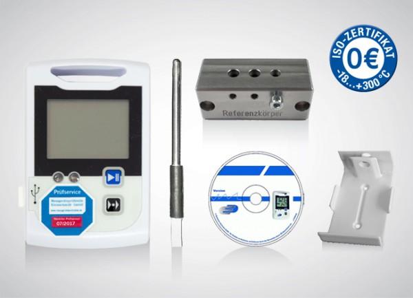 LOG100 Starter-Set für bis zu 2 Kühlschränken + ISO-Kalibrierung