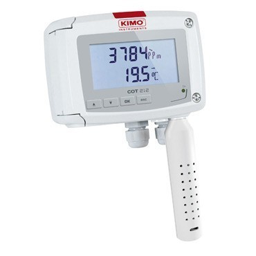 KIMO CO2-/Temperature-Transmitter-COT 212-HNS