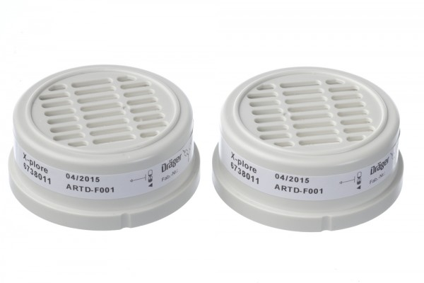 Dräger X-plore® Bajonett Partikelfilter P3 R