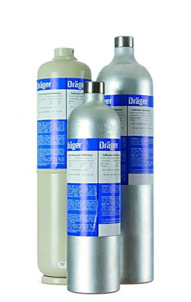 Dräger Prüfgasflasche 112L, 100 ppm CO in N2