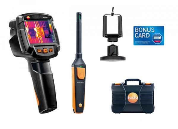 testo smartes Schimmel-Set testo 871 + Smartphonehalter & BONUS CARD
