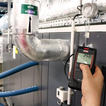 KIMO Mikromanometer / digitales Handmanometer - MP 115