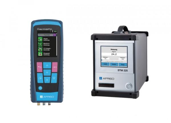 Afriso Staubmessgerät Paket STM 225 + Multilyzer STx + Zubehör