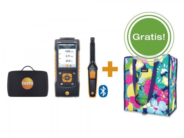 testo 440 CO2 -Set mit Bluetooth inkl. gratis PackIt Kühltasche
