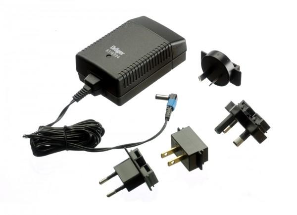 Dräger X-am Steckernetzteil (weltweit) für 5 Geräte