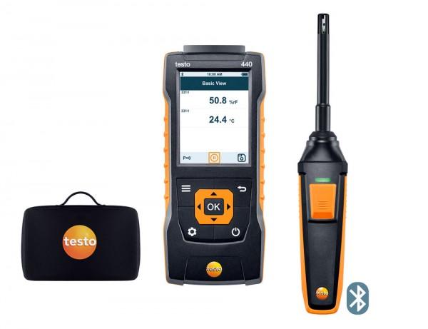 testo 440 Feuchte-Set mit Bluetooth®