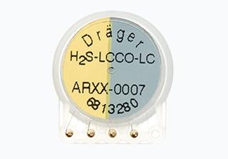 Dualer Dräger Sensor XXS H2S LC / CO - LC 0-100 ppm H2S / 0-2000 ppm CO