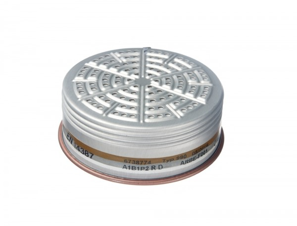 Dräger Kombi-Filter 990 A1B1 P2 R D