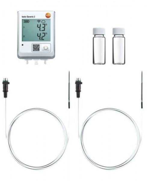 testo Saveris 2 - Set zur Temperaturüberwachung im Kühlschrank
