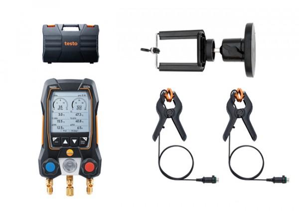 testo 550s Basis Set + Magnet-Smartphonehalter