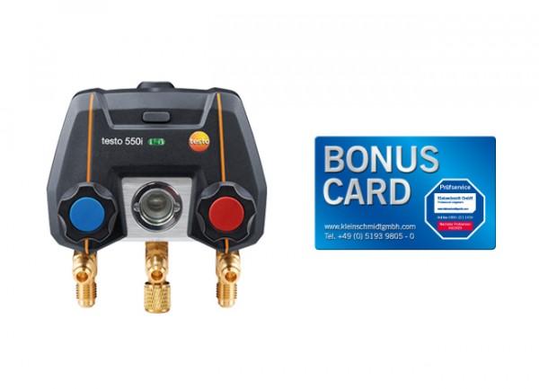 testo 550i + BONUS CARD