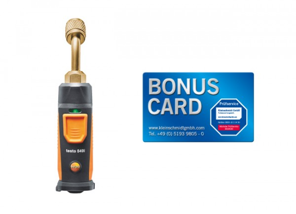 testo 549i Hochdruckmessgerät + BONUS CARD